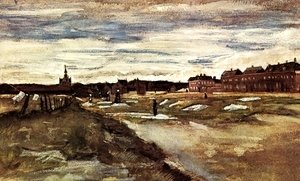 Vincent Van Gogh - Bleaching Ground at Scheveningen