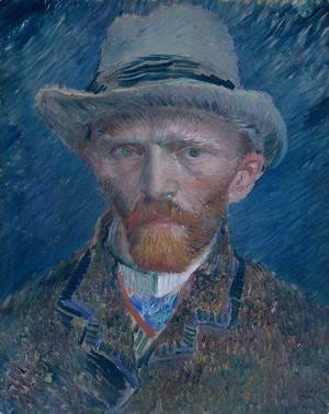 Vincent Van Gogh - Self Portrait 4
