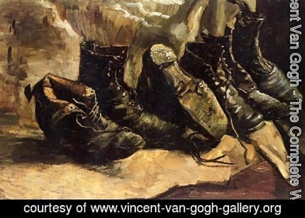 Vincent Van Gogh - Woman Miners Carrying Coal 2