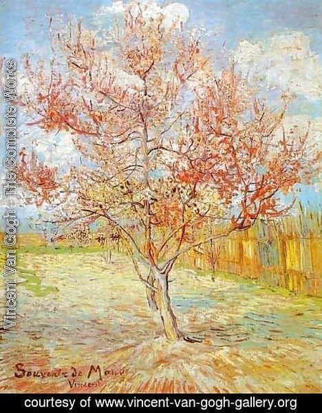 Vincent Van Gogh - Peach Tree in Blossom at Arles