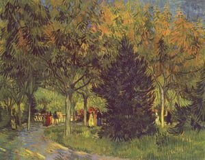 Vincent Van Gogh - the park street