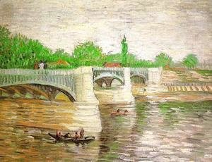 Vincent Van Gogh - The Seine with the Pont de Clichy 2