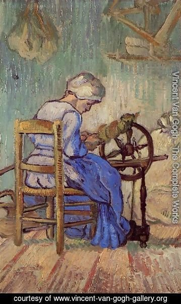 Vincent Van Gogh - The Spinner