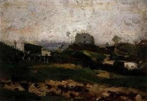 Vincent Van Gogh - View of Montmartre with Quarry