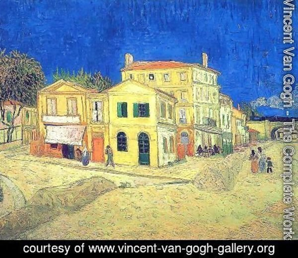 Vincent Van Gogh - Vincent's House in Arles (The Yellow House)