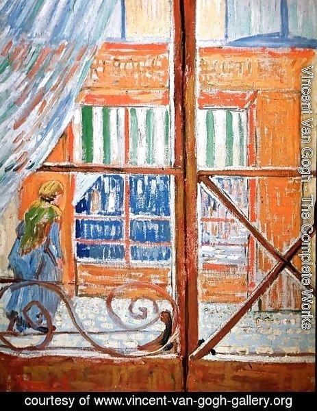 Vincent Van Gogh - A Pork-Butchers Shop Seen from a Window