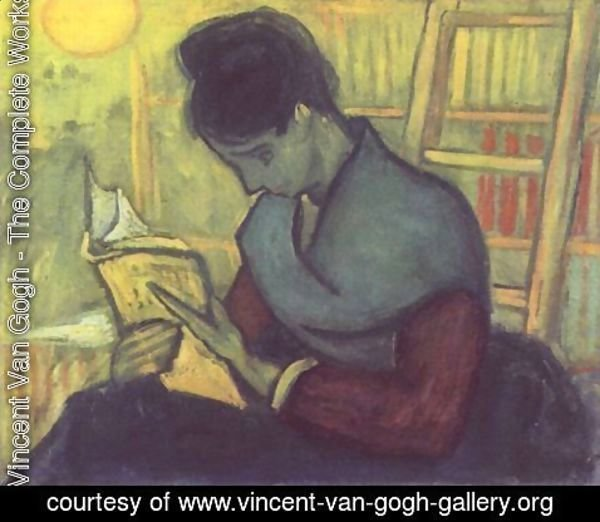 Vincent Van Gogh - A woman reading