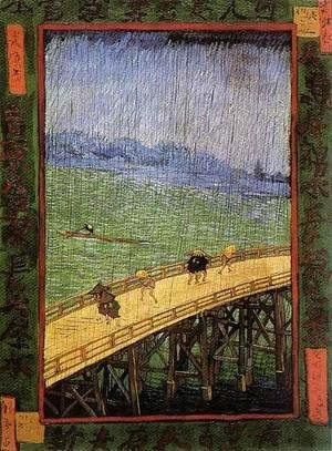 Vincent Van Gogh - Bridge in the Rain