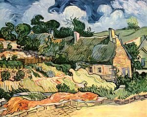 Vincent Van Gogh - camp houses