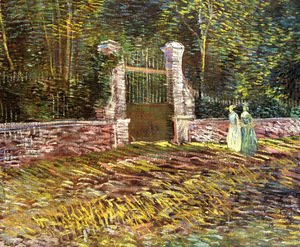 Vincent Van Gogh - Entrance of Voyer-d'Argenson Park at Asnieres