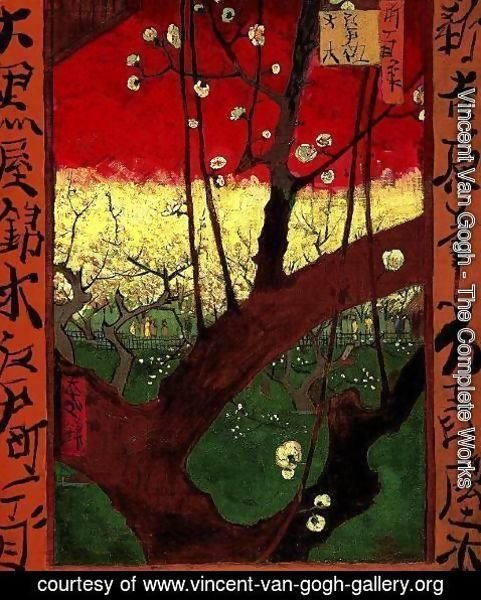 Vincent Van Gogh - Flowering Plum Tree