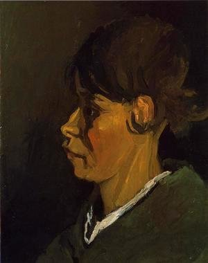 Head of a Peasant Woman, Left Profile