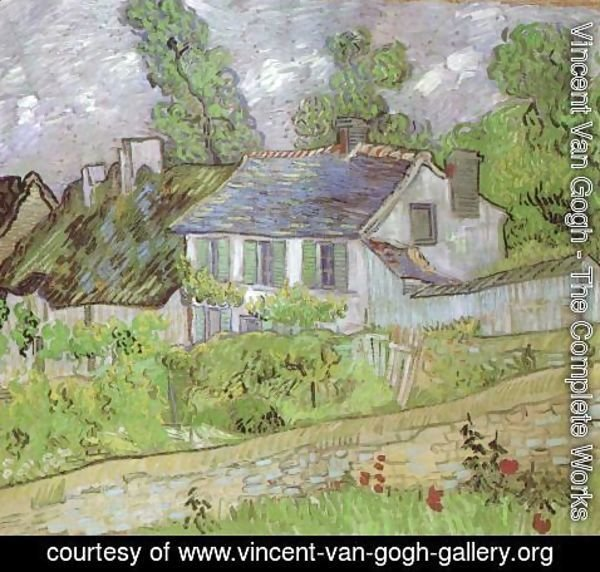 Vincent Van Gogh - House in Auvers 2