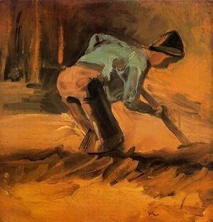 Vincent Van Gogh - Man Digging