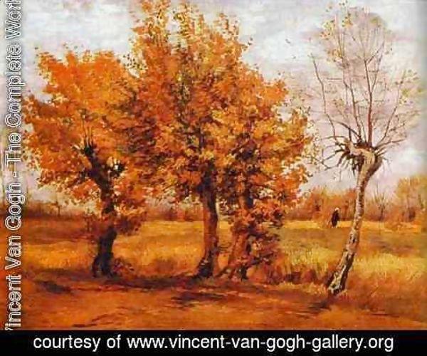 foto de Paysage d'automne 1884 by Vincent Van Gogh   Oil Painting ...
