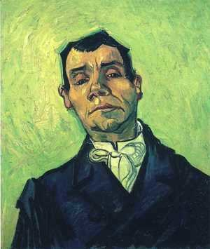 Vincent Van Gogh - Portrait of a Man 2