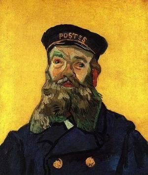 Vincent Van Gogh - Portrait of the Postman Joseph Roulin 2
