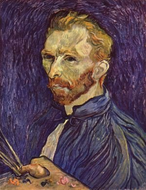 Vincent Van Gogh - Self Portrait 12