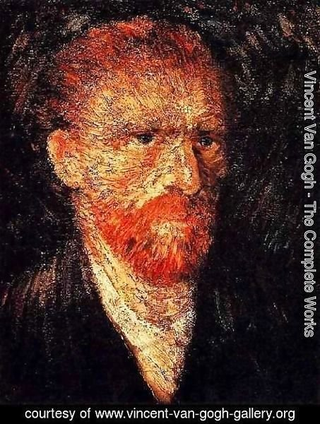 Vincent Van Gogh - Self Portrait 9