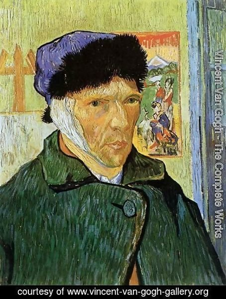 Vincent Van Gogh - Self Portrait with Badaged Ear