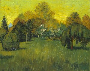 Vincent Van Gogh - The Poets Garden