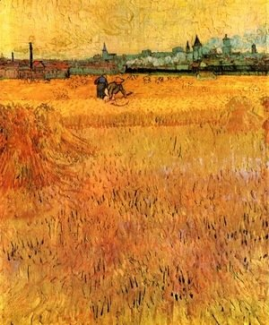 Vincent Van Gogh - Arles View From The Wheat Fields 1888