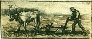 Vincent Van Gogh - At The Plough
