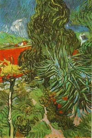 Doctor Gachets Garden In Auvers 1890