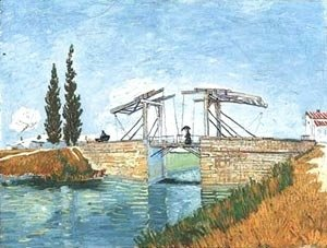 Vincent Van Gogh - Landlois Bridge 1888
