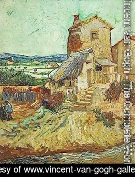 Vincent Van Gogh - Old Mill 1889