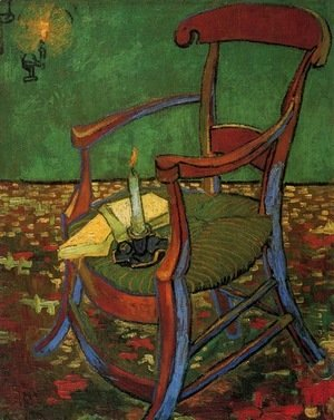 Vincent Van Gogh - Paul Gauguins Armchair 1888