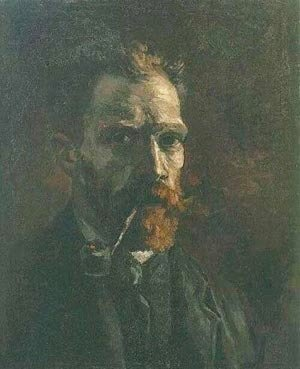 Vincent Van Gogh - Self Portrait 1 1886