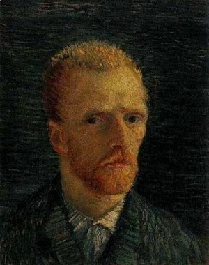 Vincent Van Gogh - Self Portrait 1 1887