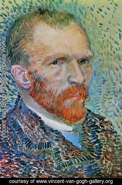 Vincent Van Gogh - Self Portrait 3 1887