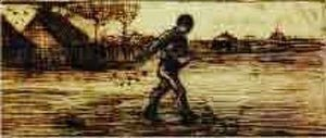 Vincent Van Gogh - The Sower 3
