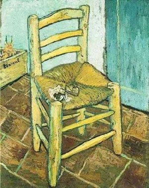 Vincent Van Gogh - Vincents Chair With His Pipe 1888
