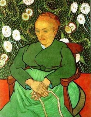 Vincent Van Gogh - Woman Rocking A Craddle 1889