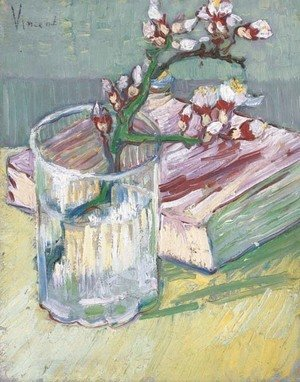 Vincent Van Gogh - Nature morte, branche d'amandier