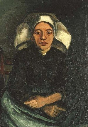Vincent Van Gogh - Peasant Woman, Half-Figure, Sitting