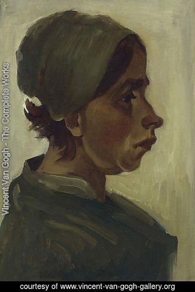 Peasant Woman, Head