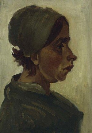 Vincent Van Gogh - Peasant Woman, Head