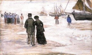 Vincent Van Gogh - The Beach at Scheveningen 2