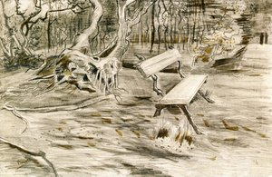 Vincent Van Gogh - The Bench