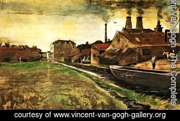 Vincent Van Gogh - The Iron Mill in The Hague
