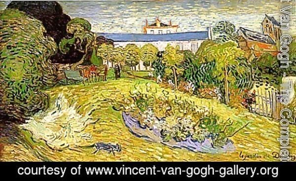 Vincent Van Gogh - The Garden of Daubigny