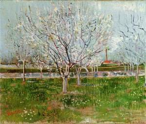 Vincent Van Gogh - Flowering Orchard