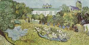 Vincent Van Gogh - The Garden of Daubigny 2
