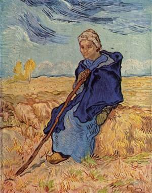 Vincent Van Gogh - The Shepherdess