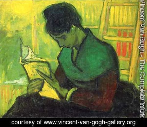 Vincent Van Gogh - The novel reader