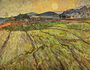 Vincent Van Gogh - Landscape with plowed fields